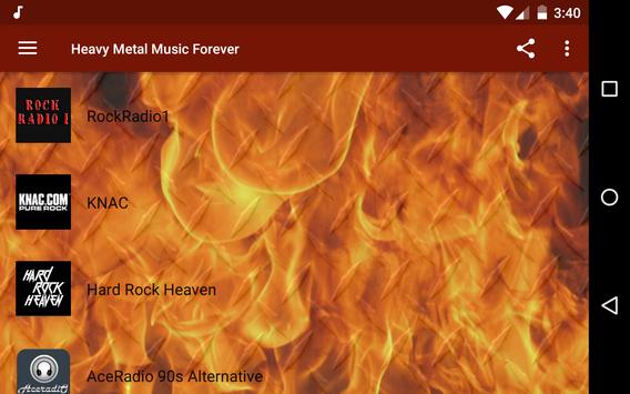 Heavy Metal Radio - Thrash, Epic, Doom, Power! screenshot 8