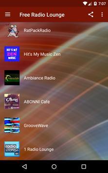 Free Radio Lounge screenshot 1