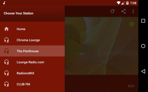 Free Radio Lounge screenshot 7