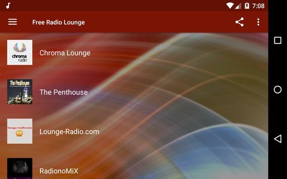 Free Radio Lounge screenshot 8