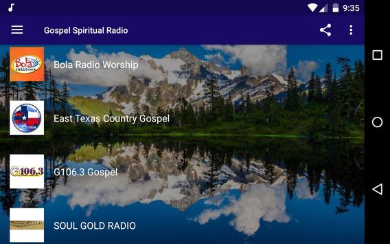 Gospel Spiritual Radio screenshot 5