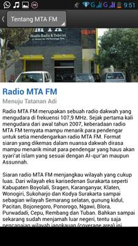 Radio MTA screenshot 1