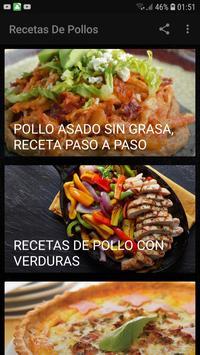 Recetas De Pollos poster