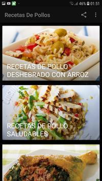 Recetas De Pollos screenshot 1