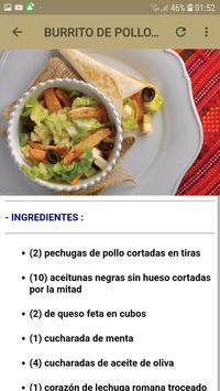 Recetas De Pollos screenshot 4