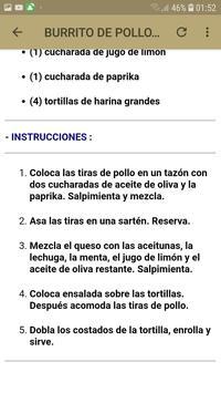 Recetas De Pollos screenshot 5