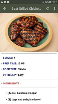 Easy & Quick Healthy Dinners Recipes Offline screenshot 2