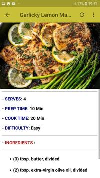 Easy & Quick Healthy Dinners Recipes Offline screenshot 3