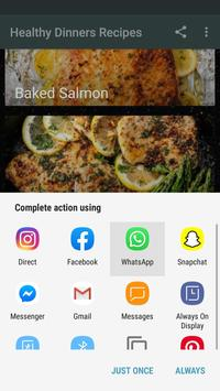 Easy & Quick Healthy Dinners Recipes Offline screenshot 7