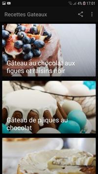 Recettes Gateaux Facile et Rapide screenshot 2