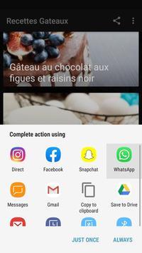 Recettes Gateaux Facile et Rapide screenshot 7