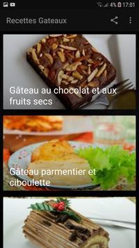 Recettes Gateaux Facile et Rapide screenshot 4