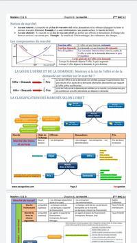 Economie générale:Résumé-2BAC-Sciences économiques screenshot 10