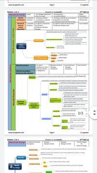 Economie générale:Résumé-2BAC-Sciences économiques screenshot 11