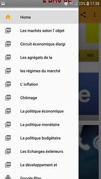 Economie générale:Résumé-2BAC-Sciences économiques screenshot 6