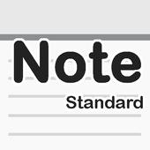 メモ帳 - 普通 シンプルで高性能な普通に使いやすいメモ帳! أيقونة