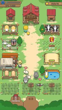 Tiny Pixel Farm - 牧场农场管理游戏 截图 1