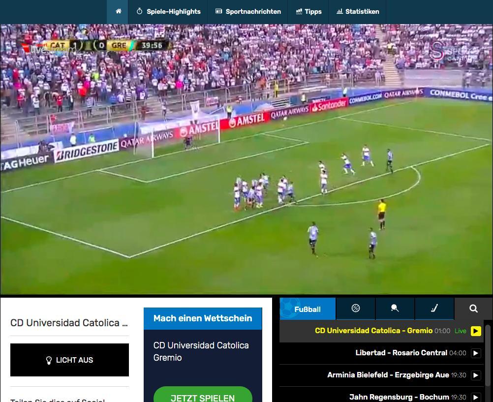 Sport Livestream