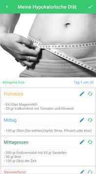 Diät planer | Ernährungsplan für schnell abnehmen Screenshot 3