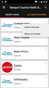 Basque Country Radio Stations screenshot 1