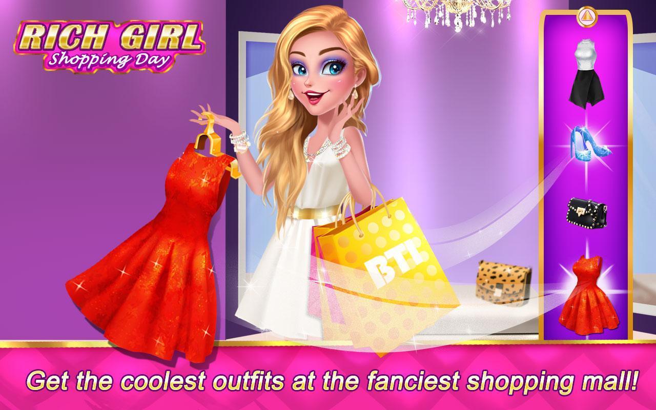 Rich Girl Shopping Day Juegos Vestir Y Maquillar For