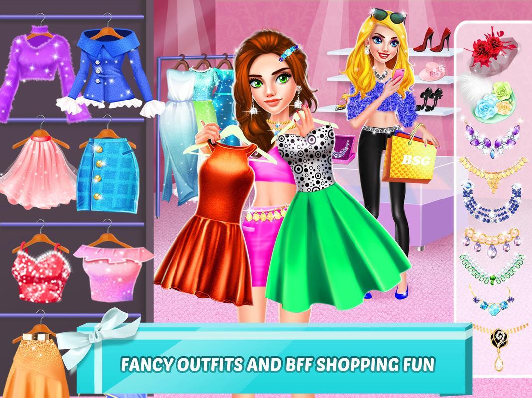 Mall Girl Rich Girls Shopping Dress Up Games Screenshot 10
