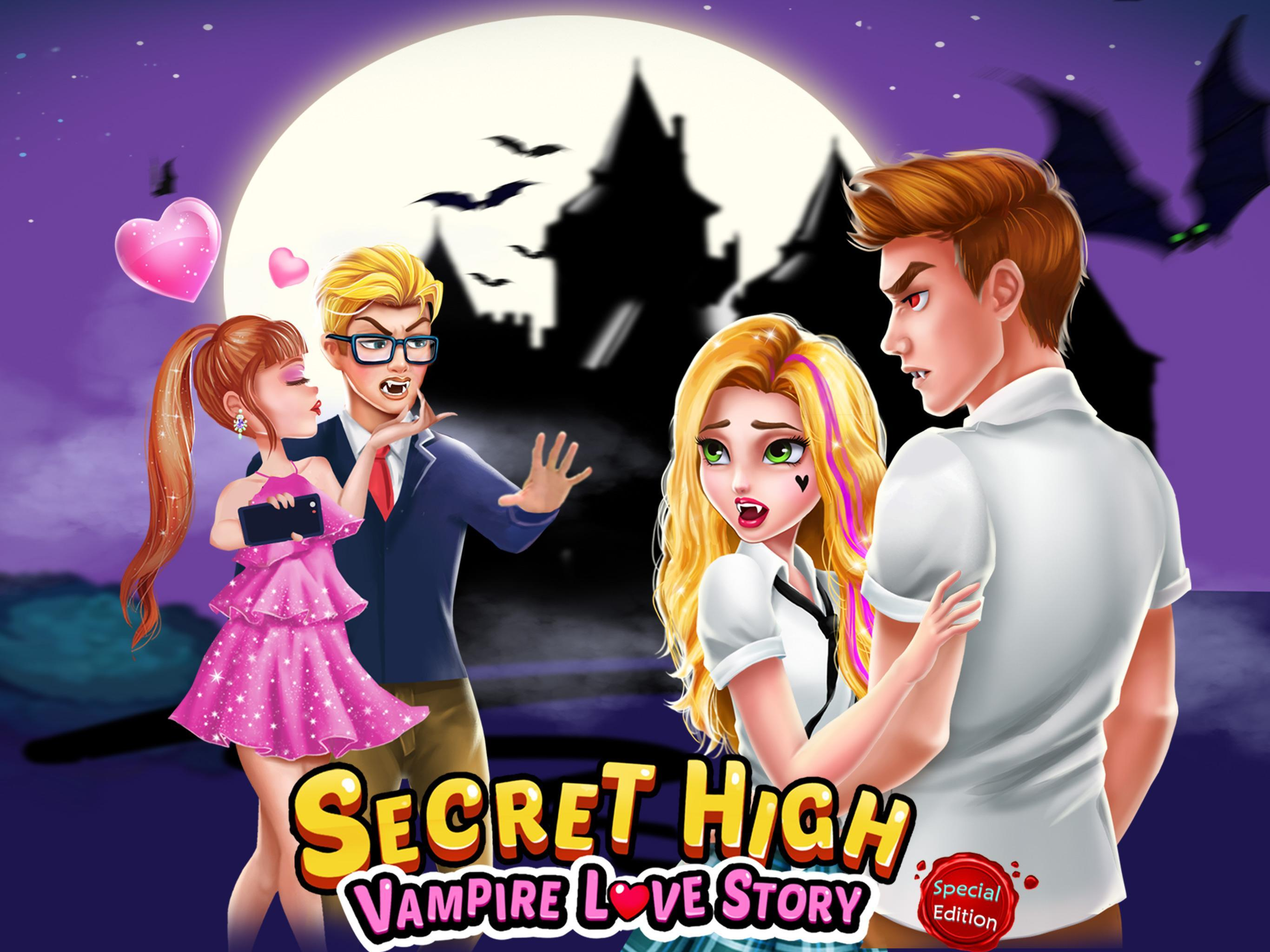 Vampire Love And Roblox Secret High School Season 1 Vampire Love Story For Android Apk