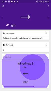 Gaster Dingbats: Wingdings translator & keyboard Ekran Görüntüsü 5