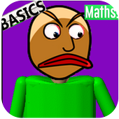 New Math basic in education and learning 2D icon