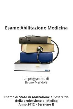 Esame Abilitazione Medicina poster