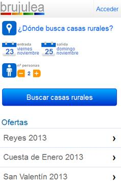 Casas rurales Brujulea poster
