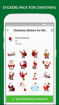 Christmas Stickers For WhatsApp - WAStickerApps screenshot 3