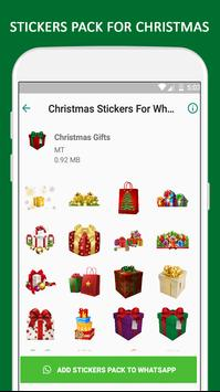 Christmas Stickers For WhatsApp - WAStickerApps screenshot 4