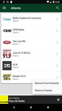 Atlanta Radio Stations - USA screenshot 5