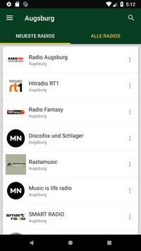 Radiosender Augsburg  - Deutschland poster