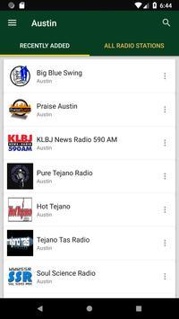 Austin Radio Stations - USA poster