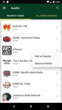 Austin Radio Stations - USA screenshot 1