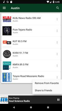 Austin Radio Stations - USA screenshot 5