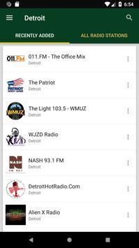 Detroit Radio Stations - USA poster