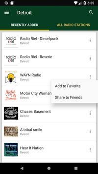 Detroit Radio Stations - USA screenshot 1