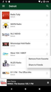 Detroit Radio Stations - USA screenshot 5