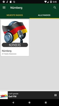 Radiosender Nürnberg  - Deutschland screenshot 3