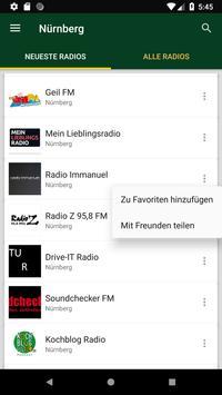Radiosender Nürnberg  - Deutschland screenshot 1