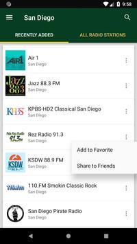 San Diego Radio Stations - USA screenshot 1