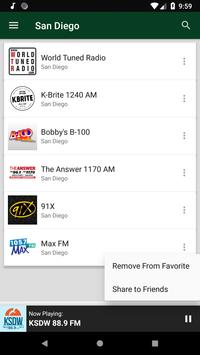 San Diego Radio Stations - USA screenshot 5