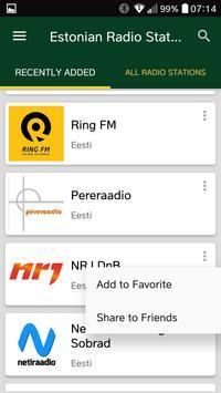 Estonian Radio Stations screenshot 1