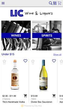 LIC Wines & Liquors Inc screenshot 1