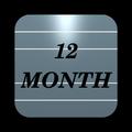 Twelve Month Calendar
