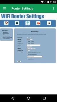WiFi Router Settings screenshot 1