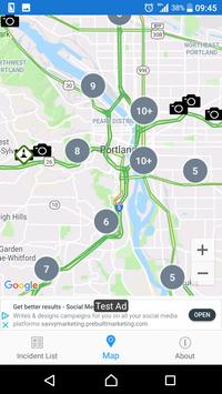 Oregon Roads - Traffic and Cameras screenshot 3